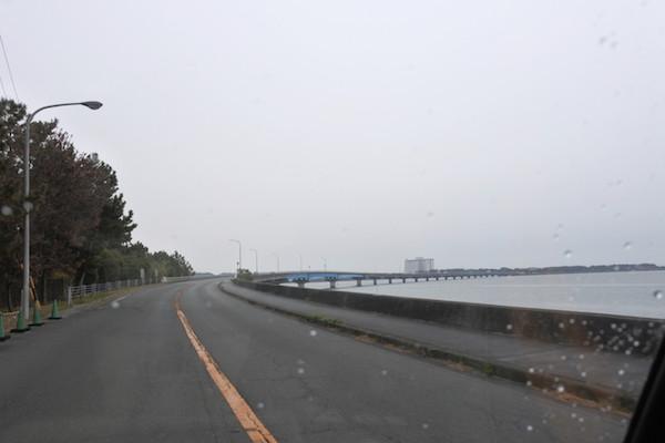 一般道でゆっくり帰ろうと浜名湖沿いを走る
