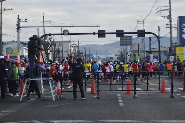 この日は奈良マラソン
