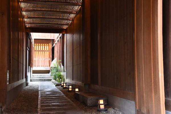 再び奈良町の風景を楽しみに。 古いだけでなく、おしゃれです。