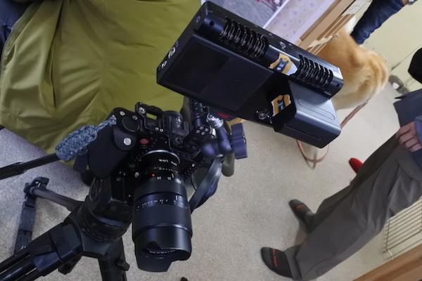 ライカのカメラ。こんなのあるのですね。(知らなかった。)