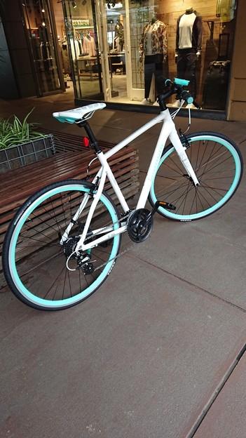 みーの自転車。。。いいなぁー、私もほしいなぁー。。。