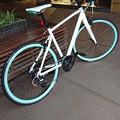 写真: みーの自転車。。。いいなぁー、私もほしいなぁー。。。