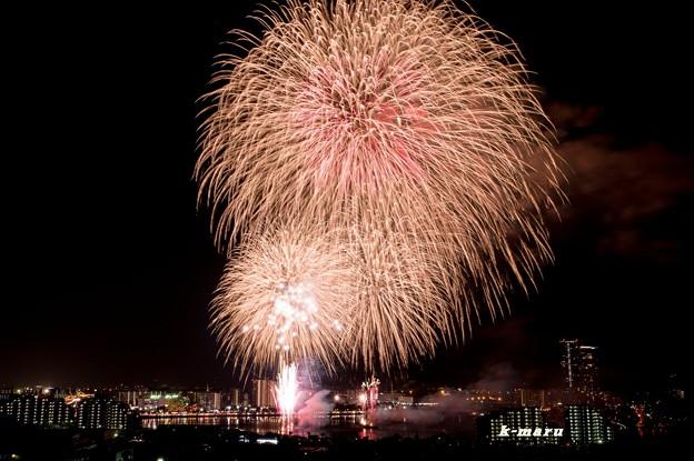 写真: 東区花火大会♪3