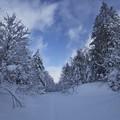 写真: 冬登山