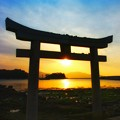 Photos: 鳥居でトリミング?