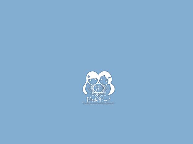 タンブラー青シンプル