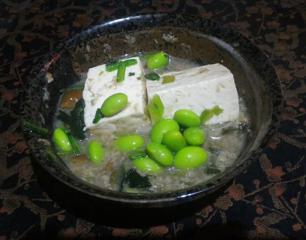 白い麻婆豆腐