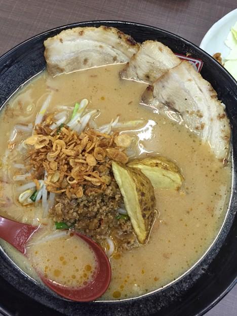 味噌炙りチャーシュー麺