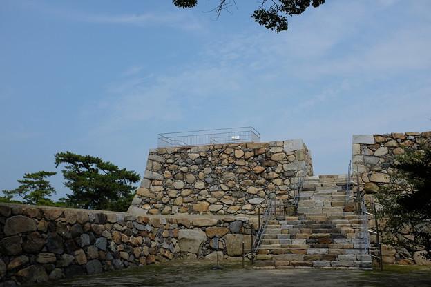 高松城の天守台