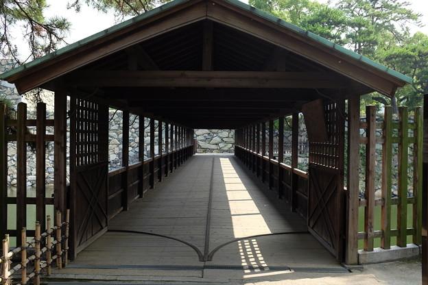 高松城の鞘橋