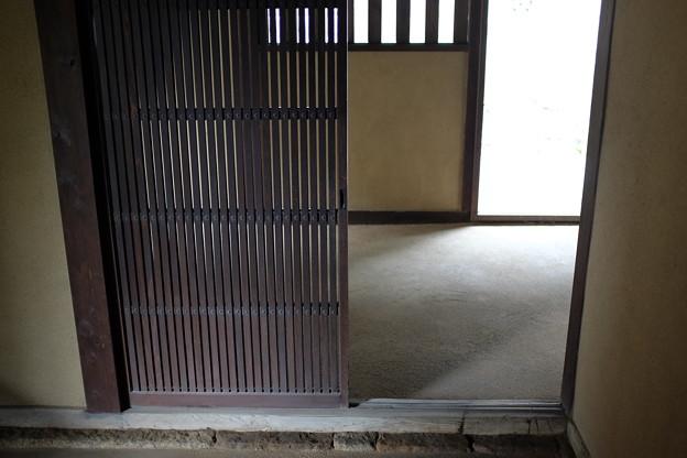 旧埴原家の玄関
