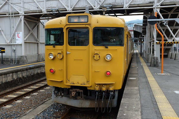 新見行き普通列車