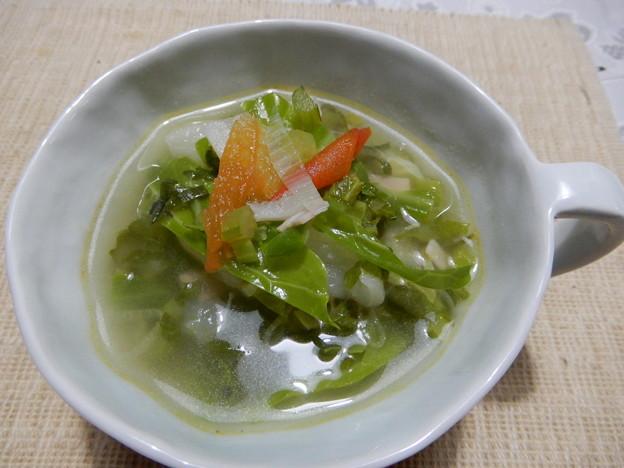 2018.1.16 野菜沢山のスープ