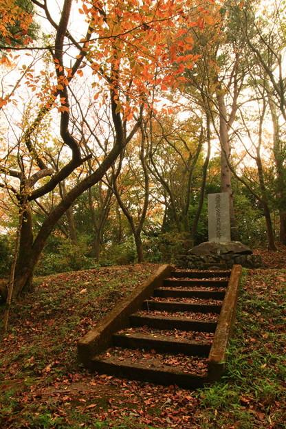 写真: 170 石尊山 海軍航空隊員殉難之碑