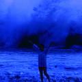 写真: 初日の出・神輿渡御 高萩市高浜海岸