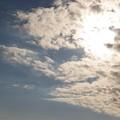 雲がメラメラッ!