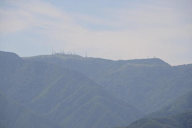 美ヶ原の頂上鉄塔群