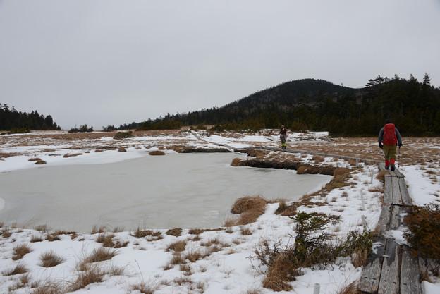 雪の鬼怒沼