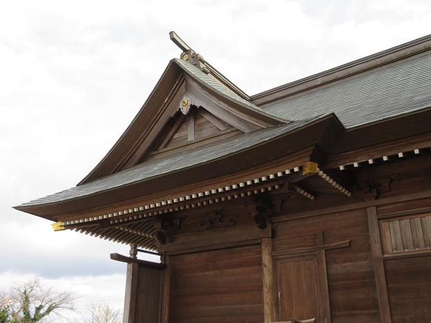 29.12.8吉岡八幡神社本殿