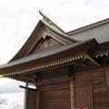 Photos: 29.12.8吉岡八幡神社本殿