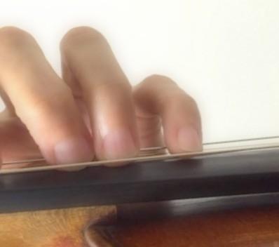 中野・江古田 バイオリン 個人レッスン ヴィオラ 吉瀬弥恵子 Y's音楽教室 小指のヴィブラート