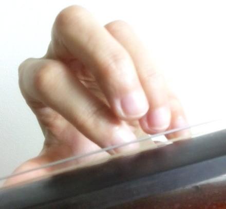 中野・江古田 バイオリン 個人レッスン ヴィオラ 吉瀬弥恵子 ワイズ音楽教室 ハイポジションの音程