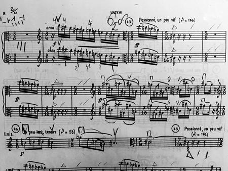 東京・中野・練馬・江古田ヴァイオリン・ヴィオラ・音楽教室 現代曲