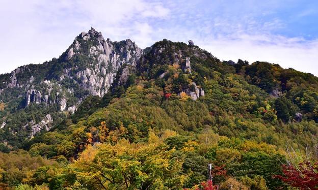Photos: 2230mの奇峰