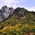 写真: 2230mの奇峰