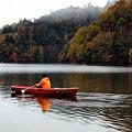 紅葉狩りと釣り