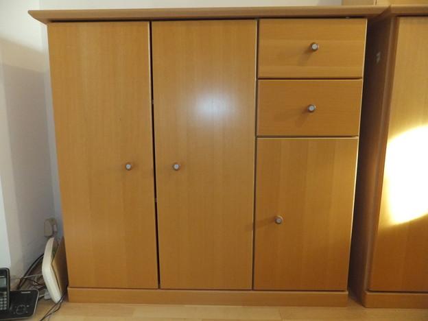 木製棚 / wooden office cabinet