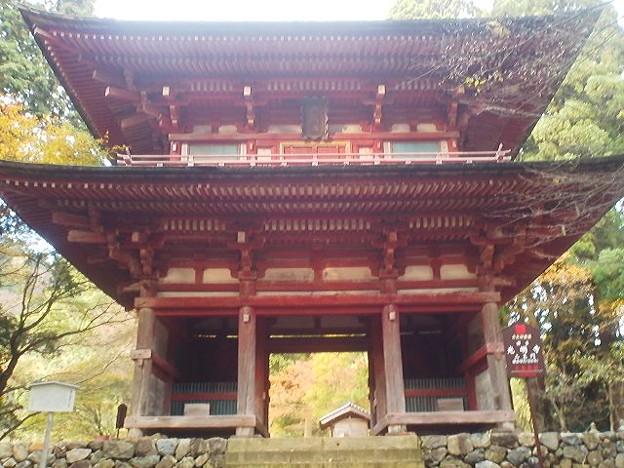 Photos: 本日ラストは綾部市光明寺の国宝仁王門。鎌倉時代の建立。 #仁王