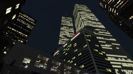 夜のWTC