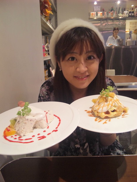 写真: デザート♪♪☆━…ヾ(・∀・)ノ°+.…━☆