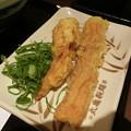 写真: 丸亀製麺のちくわ天と鶏天