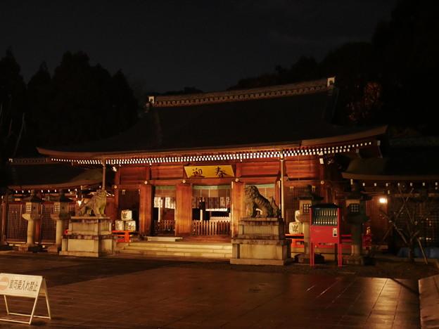 初詣2018 京都霊山護国神社