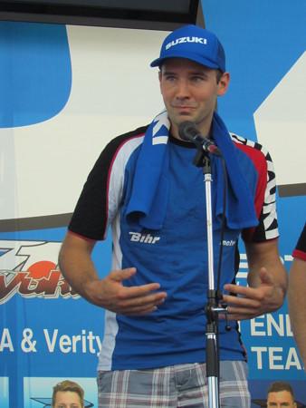 46 2014 鈴鹿8耐 スズキ エンデュランス アンソニー デラール エルワン ニゴン ダミアン カドリン 0