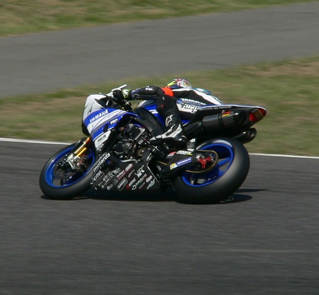 写真: 09 2014 SUZUKA8HOURS GMT94 YAMAHA YZF-R1 FORAY GINES CHECA フォーレイ マチュー デビット8耐 P1340932