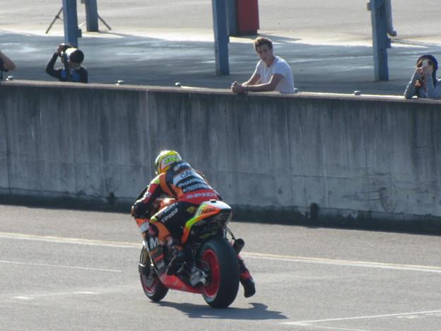 105 2014 motogp motegi アレックス エスパルガロ Aleix ESPARGARO NGM Forward Yamaha IMG_3193