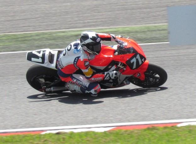 写真: 2014 鈴鹿8耐 Honda DREAM RT SAKURAI ジェイミー スタファー トロイ ハーフォス 亀谷長純 CBR1000RRSP 011