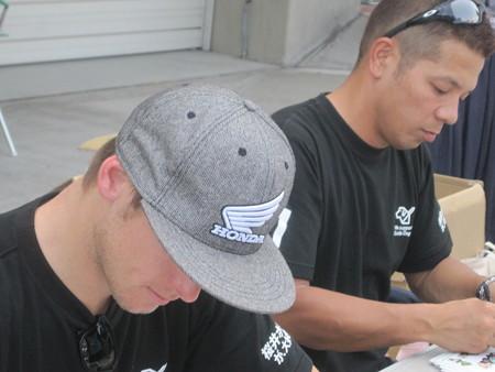 2014 鈴鹿8耐 Honda DREAM RT SAKURAI ジェイミー スタファー トロイ ハーフォス 亀谷長純 CBR1000RRSP 27