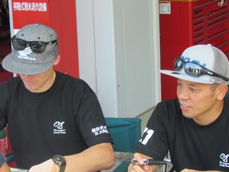 2014 鈴鹿8耐 Honda DREAM RT SAKURAI ジェイミー スタファー トロイ ハーフォス 亀谷長純 CBR1000RRSP 35