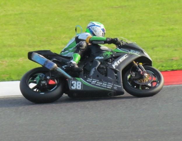 写真: 2014 鈴鹿8耐 KAWASAKI ZX-10R 刈田庄平 塚本昭一 山下繁 K-TEC Team38 PS-K 156