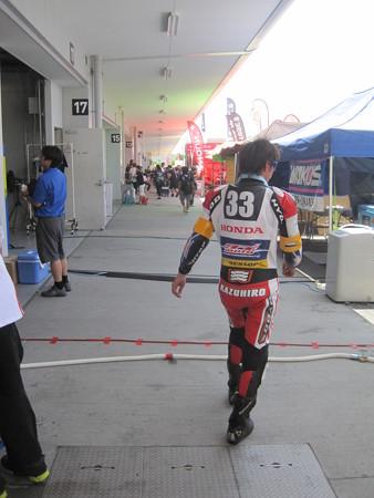 2014 鈴鹿8耐 SUZUKA8HOURS Honda 熊本レーシング 吉田光弘 小島一浩 徳留和樹 CBR1000RR 550