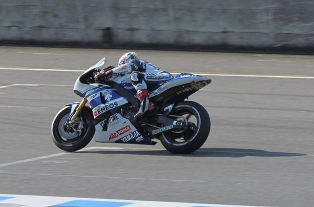 写真: 2014 motogp もてぎ 中須賀克行 Yamaha YZR-M1 Katsuyuki・NAKASUGA motegi 3