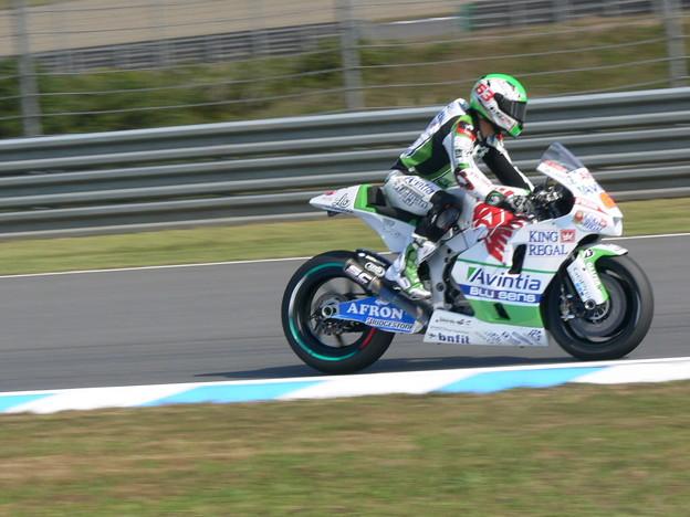 写真: 2014 motogp もてぎ マイク・ディ・メッリオ Mike・DI・MEGLIO アビンティア カワサキ 0928
