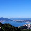 写真: 関門海峡