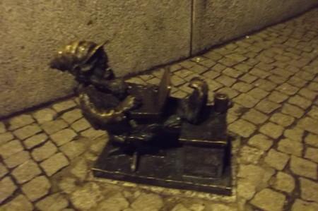 ヴロツワフ・ドワーフ像1127