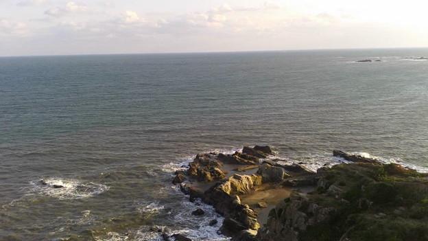 犬吠埼灯台から太平洋