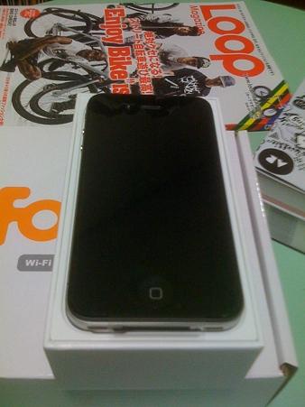 iPhone4本体